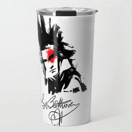 Beethoven Punk Travel Mug