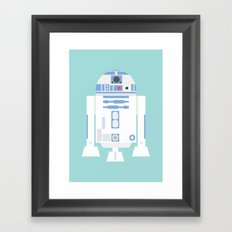 #92 R2D2 Framed Art Print