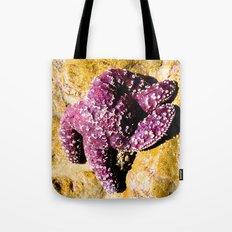 Purple Star Tote Bag