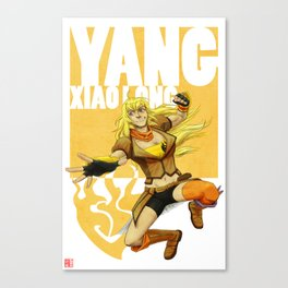 RWBY - Yang Xiao Long Canvas Print
