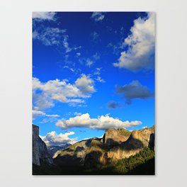 Tunnel View, Yosemite National Park, Fall 2013 Canvas Print