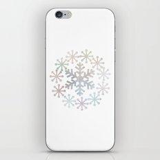 Snowflakes - Holidaze iPhone & iPod Skin