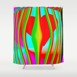 Power of love Shower Curtain