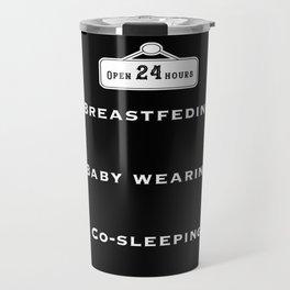 Breastfeeding, baby wearing and co-sleeping Travel Mug