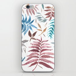 The forest floor iPhone Skin