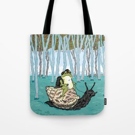 The Snail and The Frog Tote Bag