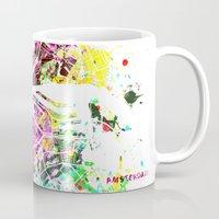 amsterdam Mugs featuring Amsterdam by Nicksman