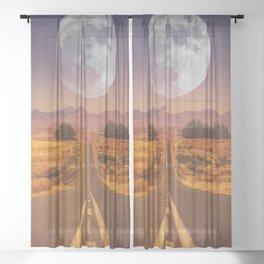 Lunar 2 Sheer Curtain
