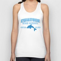 iwatobi Tank Tops featuring Iwatobi - Dolphin by drawn4fans