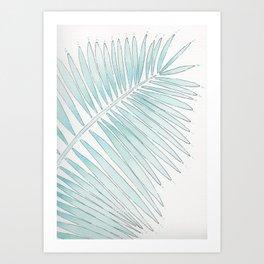 Tropical Fringe Art Print
