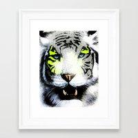 tigger Framed Art Prints featuring Tigger by yumifuji