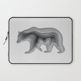 Paper Bear Laptop Sleeve