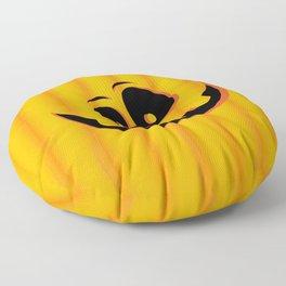 Smiling Halloween Pumpkin head Floor Pillow