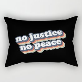 No Justice No Peace BLM 2020 Rectangular Pillow