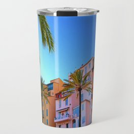 Colorful and Cool Menton Travel Mug