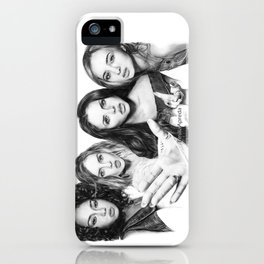 LM Group Drawing iPhone Case