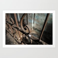 Brew House Feather Art Print