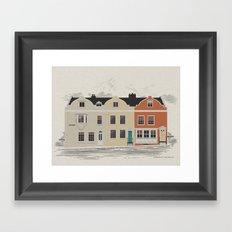 Lombard St. Portsmouth Framed Art Print