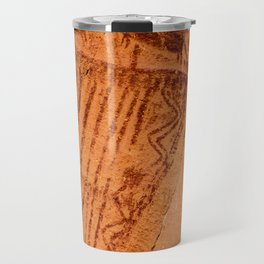 Great Gallery Pictograph Close-up Canyonlands National Park - Utah Travel Mug