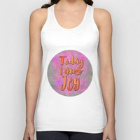 olivia joy Tank Tops featuring Joy    by LebensART
