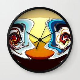Bruce and Roberta Wall Clock