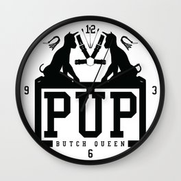 BQ - Pup Wall Clock