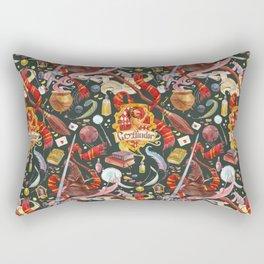 Gryffindor Pattern Rectangular Pillow