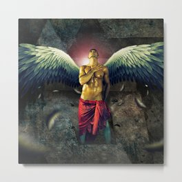 angel nude art Metal Print
