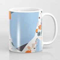 swedish Mugs featuring Swedish Lava by Pearlyn Chiam