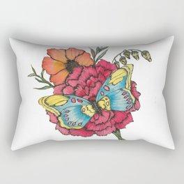 Color Flutter Rectangular Pillow