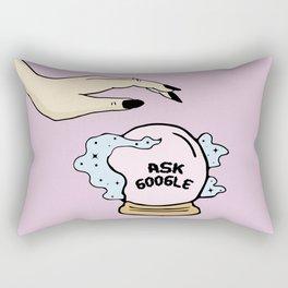 ASK GOOGLE Rectangular Pillow