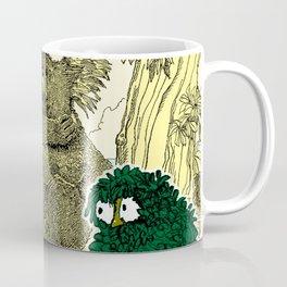 Leaf Owl & The Cuddling Koalas. Coffee Mug