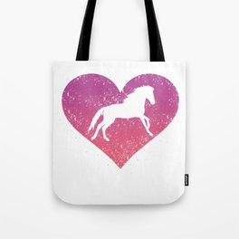 Horse Lover Gift I Love Horseback Riding Equestrian Gift Tote Bag