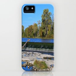 Providence Dam I iPhone Case