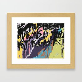 Street Smarts 1 Framed Art Print