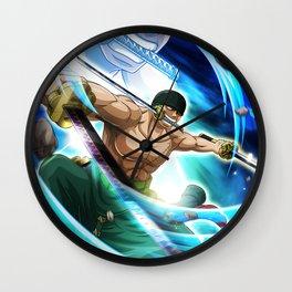 Rononoa Zoro - One Piece Wall Clock