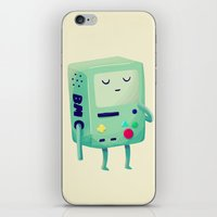 video games iPhone & iPod Skins featuring Who Wants To Play Video Games? by Nan Lawson
