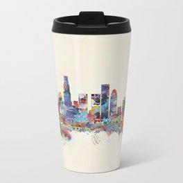 los angeles california skyline Metal Travel Mug