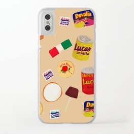 Dulces Mexicanos Clear iPhone Case