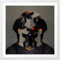 no face Art Prints featuring Face by LIVESequence