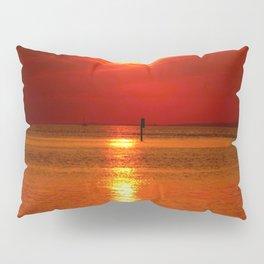 Sunset at Lake Constance Pillow Sham