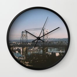 Mt. Rainier, Tacoma Washington Wall Clock