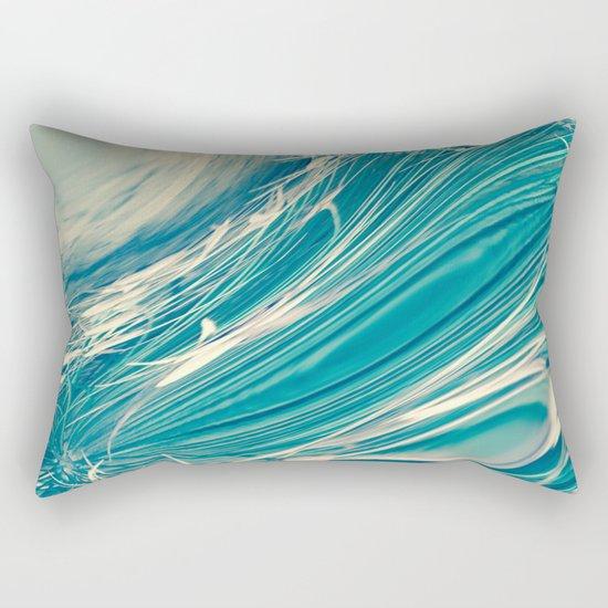 Neptune's Wild Ocean Rectangular Pillow