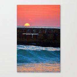 Sunset over Siesta Key Canvas Print