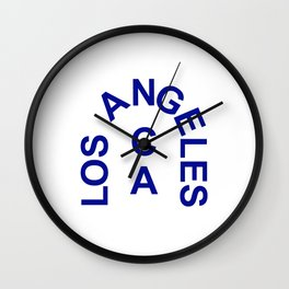 Los Angeles Arch Wall Clock