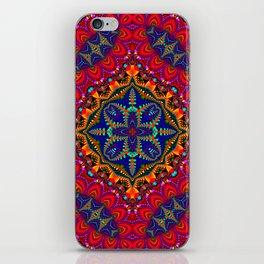 Beautiful colorful Kaleidoscope SB4 iPhone Skin