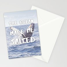 The Ocean Made Me Salted Stationery Cards
