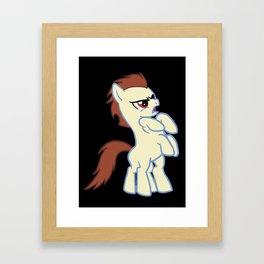 My Little Sleipnir Framed Art Print