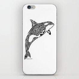 Tribal Orca iPhone Skin