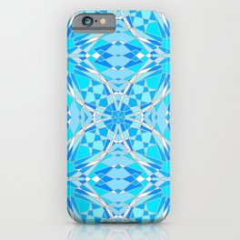 Icy Stained Glass iPhone Case